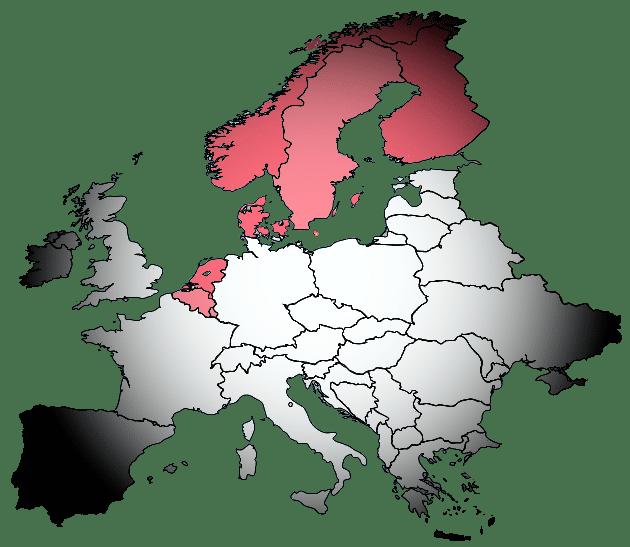 NDS Benelux Scandinavie Dealer Dealers